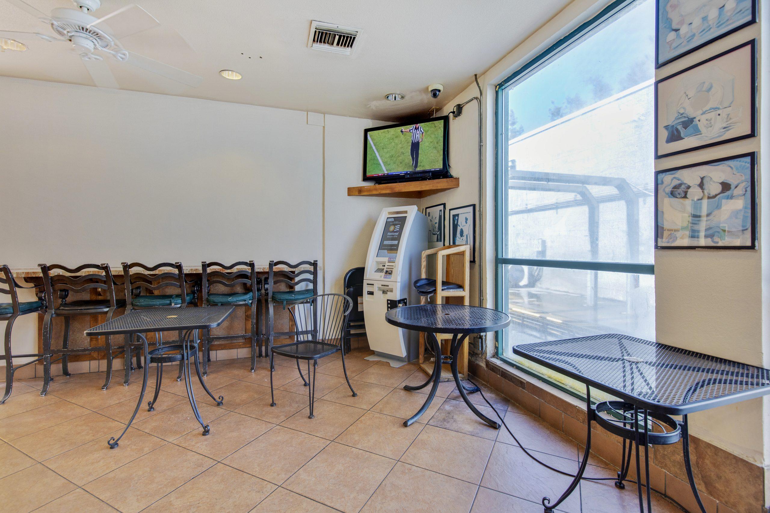 CV Restaurant seating area